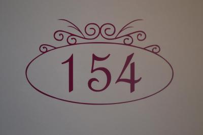 Stickers chiffres boites aux lettres -modèle ovale
