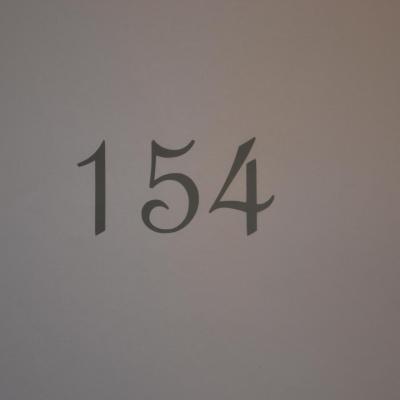 Stickers chiffres simple boites aux lettres