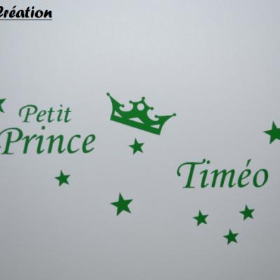 Sticker petit prince