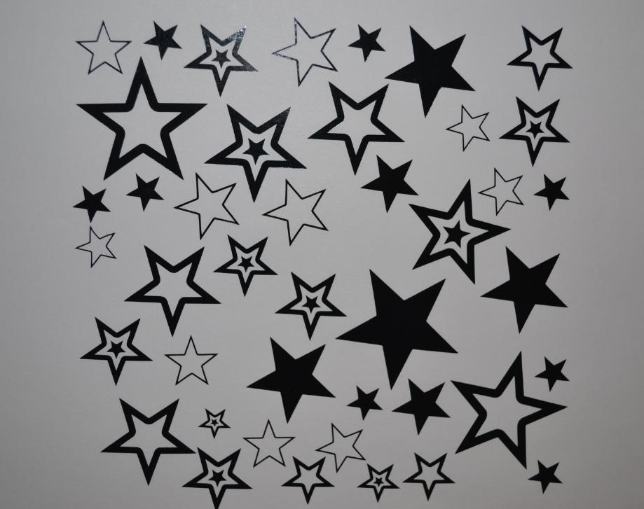 Sticker planche etoiles