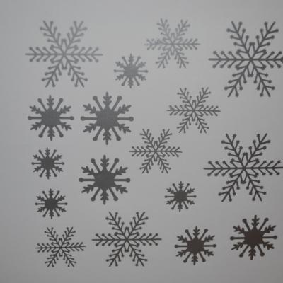 Stickers planche flocon de neige