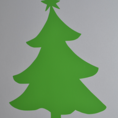 Stickers sapin simple