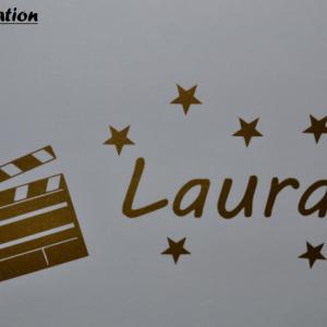 Stickers cinema prenom