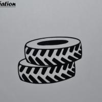 Stickers pneu