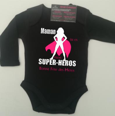 Body ML -  Super héros femme