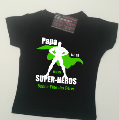 Tee shirt MC - Super héros homme