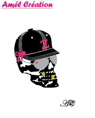Tee shirt MC femme - Tête de mort