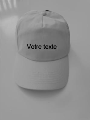 Casquette votre texte