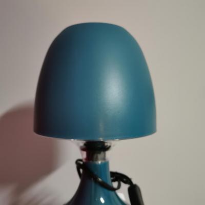 Lampe de chevet vert/bleu - à personnaliser